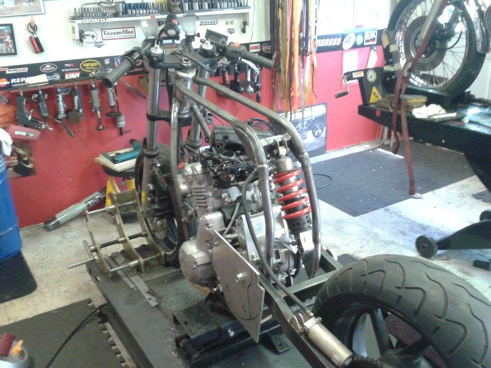 Custom Fabrication and Modification - Cold Hearted Custom Cycles